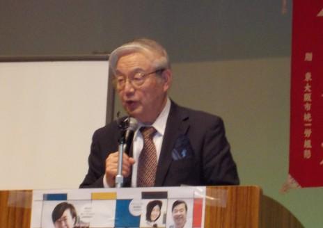 中田進先生の講演4/26